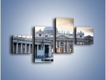 Obraz na płótnie – Bazylika św. Piotra w Watykanie – czteroczęściowy AM722W3