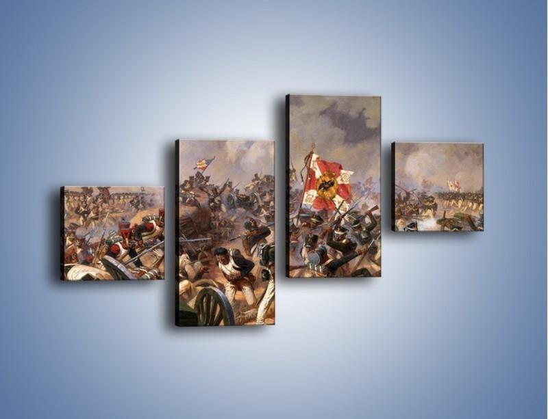 Obraz na płótnie – Wojna i jej skutki – czteroczęściowy GR133W3