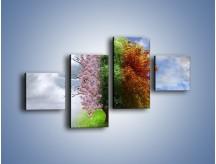 Obraz na płótnie – Cztery pory roku – czteroczęściowy GR333W3