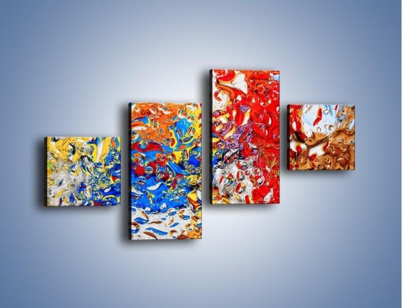 Obraz na płótnie – Każdy kolor coś znaczy – czteroczęściowy GR407W3