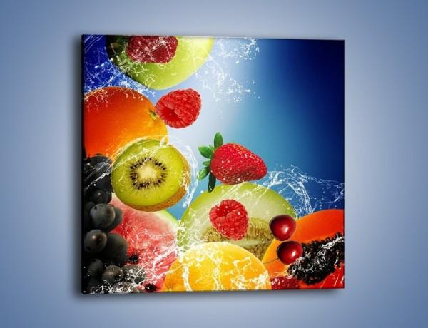 Obraz na płótnie – Owoce o poranku – jednoczęściowy kwadratowy JN331