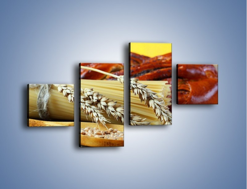 Obraz na płótnie – Chleb pszenno-kukurydziany – czteroczęściowy JN090W3