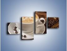 Obraz na płótnie – Czas na kawę – czteroczęściowy JN353W3
