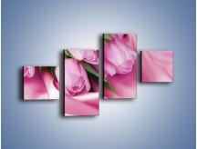 Obraz na płótnie – Atłas wśród tulipanów – czteroczęściowy K152W3