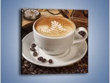 Obraz na płótnie – Czas na kawę – jednoczęściowy kwadratowy JN353