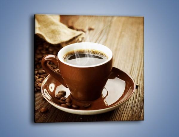 Obraz na płótnie – Kawowe dzień dobry – jednoczęściowy kwadratowy JN359