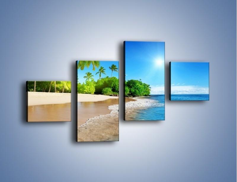 Obraz na płótnie – Bajeczne wakacyjne wspomnienia – czteroczęściowy KN1110AW3