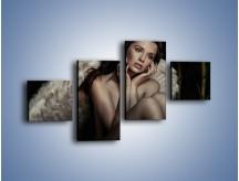 Obraz na płótnie – Anioł i jego tęsknota – czteroczęściowy L011W3
