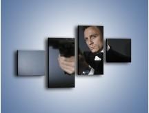 Obraz na płótnie – Bond. james bond – czteroczęściowy L239W3