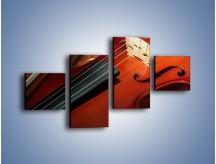 Obraz na płótnie – Instrument i muzyka poważna – czteroczęściowy O025W3