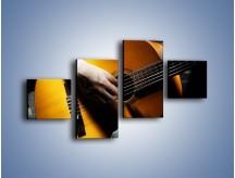 Obraz na płótnie – Chłopiec z gitarą – czteroczęściowy O109W3