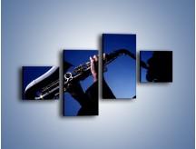 Obraz na płótnie – Koncert na saksofonie – czteroczęściowy O110W3