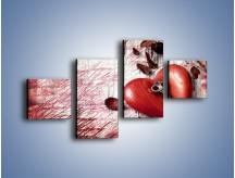 Obraz na płótnie – Klucz do serca – czteroczęściowy O246W3