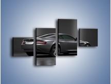 Obraz na płótnie – Aston Martin DB9 Coupe – czteroczęściowy TM059W3