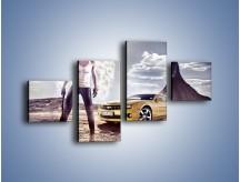 Obraz na płótnie – Chevrolet Camaro – czteroczęściowy TM079W3