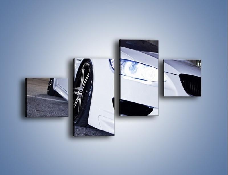 Obraz na płótnie – BMW E92 M3 Coupe – czteroczęściowy TM089W3