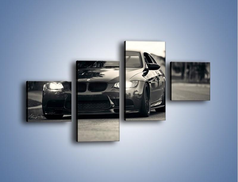Obraz na płótnie – BMW M3 – czteroczęściowy TM092W3