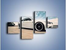 Obraz na płótnie – BMW M3 Strasse Forged Wheels – czteroczęściowy TM094W3