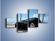 Obraz na płótnie – BMW M3 GTS – czteroczęściowy TM095W3