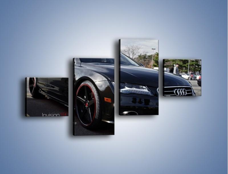 Obraz na płótnie – Audi A7 D2forged Wheels – czteroczęściowy TM099W3