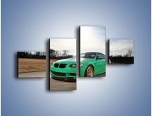 Obraz na płótnie – BMW E92 M3 Tuning – czteroczęściowy TM108W3