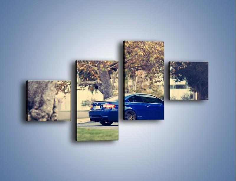 Obraz na płótnie – BMW M3 Coupe E104 – czteroczęściowy TM114W3