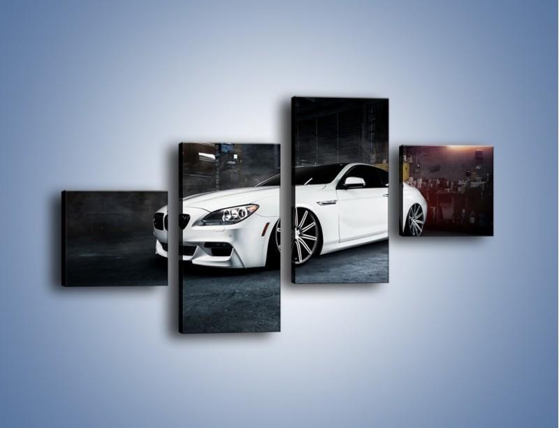 Obraz na płótnie – BMW M6 F13 Vossen Wheels – czteroczęściowy TM169W3