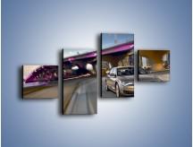 Obraz na płótnie – Audi A8 – czteroczęściowy TM188W3