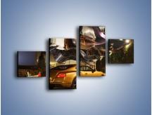 Obraz na płótnie – Bentley Continental GT V8 – czteroczęściowy TM190W3