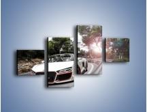 Obraz na płótnie – Audi R8 V10 Spyder – czteroczęściowy TM209W3