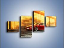 Obraz na płótnie – BMW 3 F41 – czteroczęściowy TM235W3