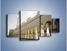 Obraz na płótnie – Bliskowschodnia architektura – czteroczęściowy AM177W4