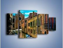Obraz na płótnie – Cały urok Wenecji w jednym kadrze – czteroczęściowy AM371W4