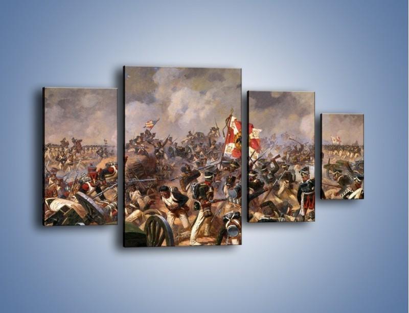 Obraz na płótnie – Wojna i jej skutki – czteroczęściowy GR133W4