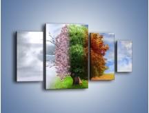 Obraz na płótnie – Cztery pory roku – czteroczęściowy GR333W4