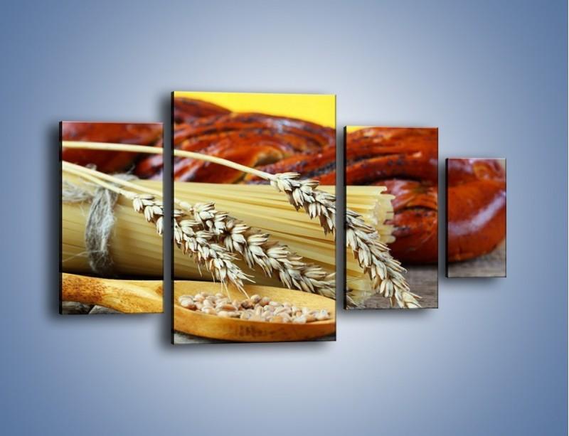 Obraz na płótnie – Chleb pszenno-kukurydziany – czteroczęściowy JN090W4