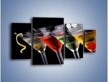 Obraz na płótnie – Alkoholowa zabawa do rana – czteroczęściowy JN100W4