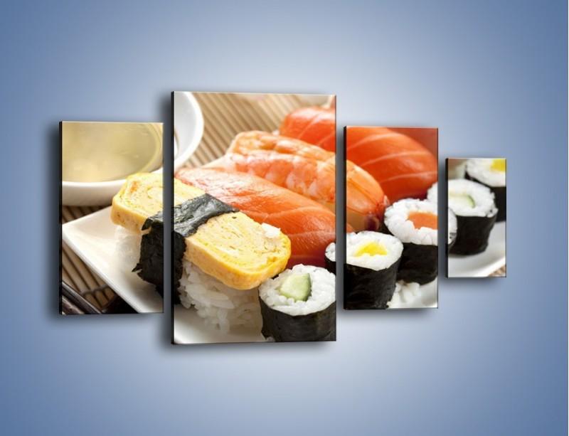 Obraz na płótnie – Azjatyckie posiłki – czteroczęściowy JN355W4
