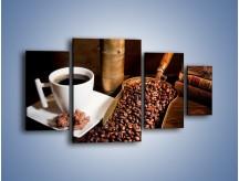 Obraz na płótnie – Opowieści przy mocnej kawie – czteroczęściowy JN360W4