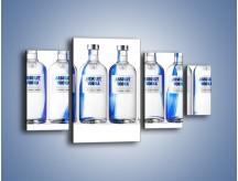 Obraz na płótnie – Czysta wódka w butelkach – czteroczęściowy JN748W4