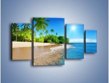 Obraz na płótnie – Bajeczne wakacyjne wspomnienia – czteroczęściowy KN1110AW4