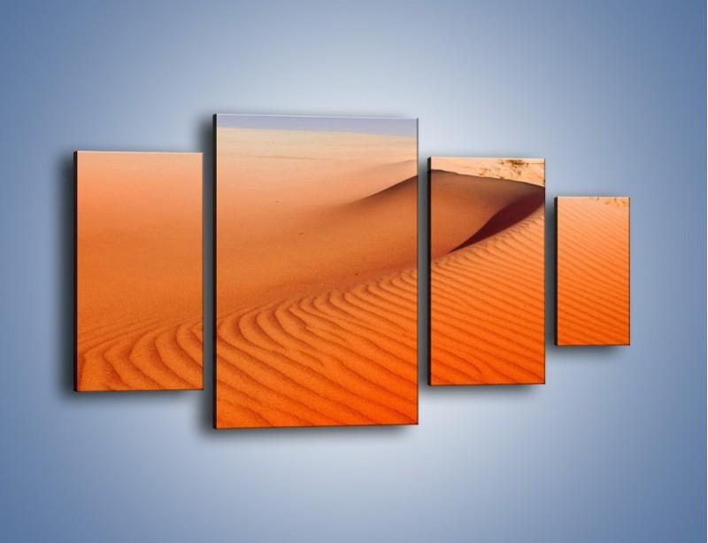Obraz na płótnie – Pustynny żar – czteroczęściowy KN305W4