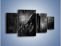 Obraz na płótnie – Brutalny męski świat – czteroczęściowy L105W4
