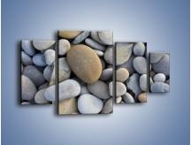 Obraz na płótnie – Kamienie duże i małe – czteroczęściowy O006W4