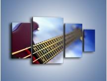 Obraz na płótnie – Gitara z bliska – czteroczęściowy O088W4