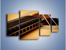 Obraz na płótnie – Instrumenty z drewna – czteroczęściowy O108W4