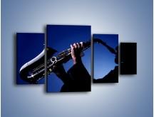 Obraz na płótnie – Koncert na saksofonie – czteroczęściowy O110W4