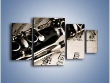 Obraz na płótnie – Egzamin z muzyki – czteroczęściowy O216W4