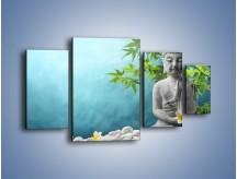 Obraz na płótnie – Idealny świat harmonii i spokoju – czteroczęściowy O258W4