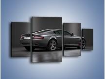 Obraz na płótnie – Aston Martin DB9 Coupe – czteroczęściowy TM059W4